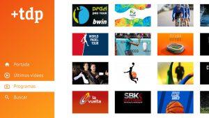 Más Teledeporte es la nueva app de RTVE disponible en los Samsung Smarts.