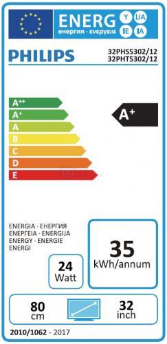 Philips 32PHT5302/12 energía