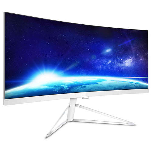 Philips 349X7FJEW es un monitor curvo megapanorámico que nos alucina