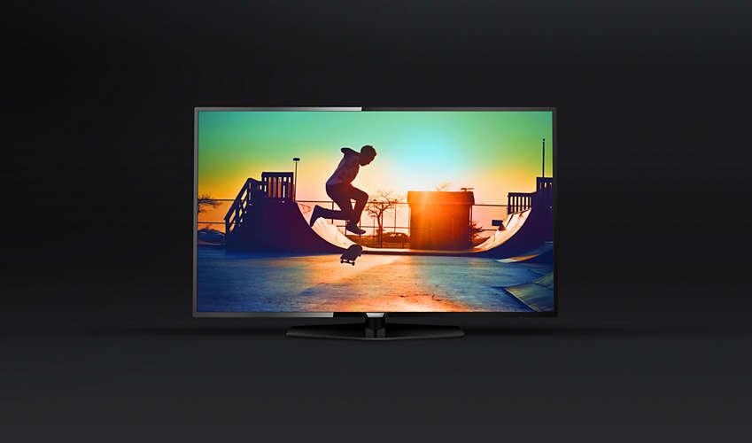 Philips 49PUS616212 ES UN TELEVISOR DE GAMA MEDIA CONVENCIONAL