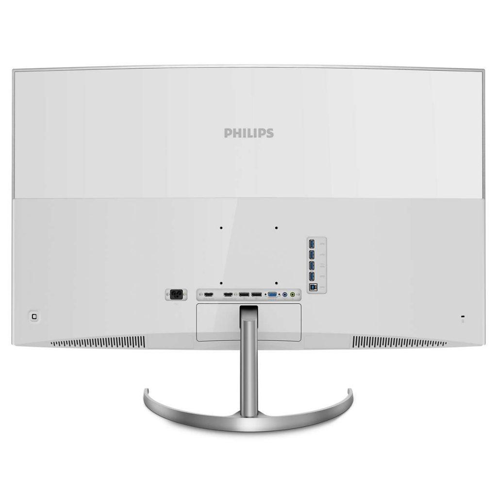 Philips BDM4037UW trasera
