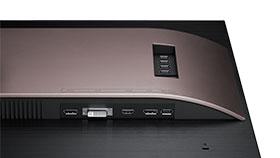 Samsung S32D850T conexiones