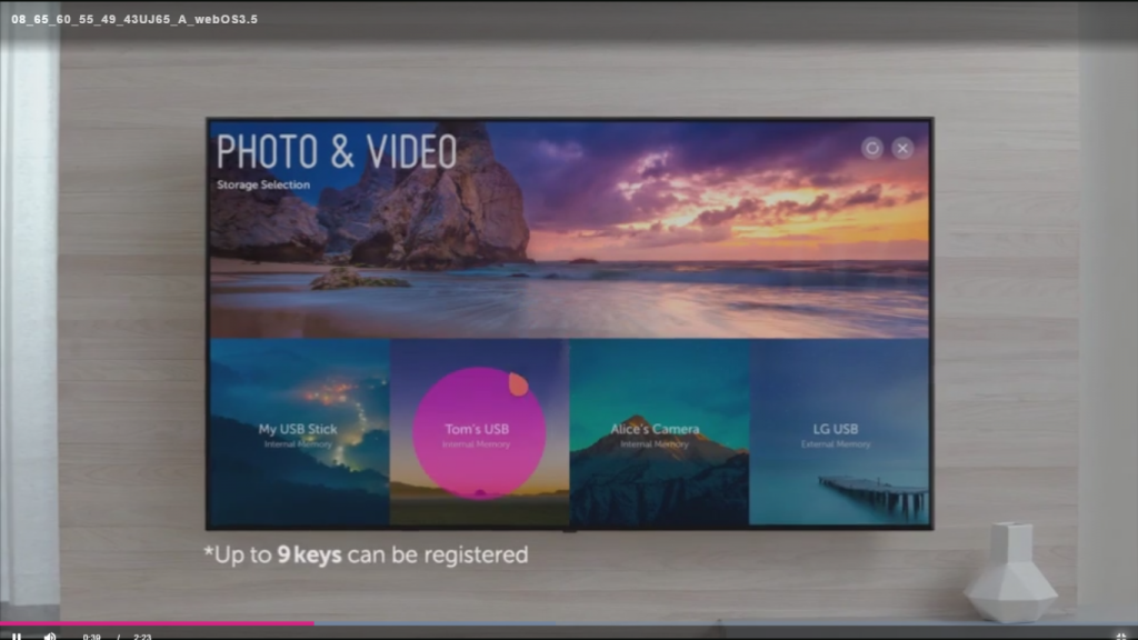 LG 49UJ701V. WebOS 3.5 actualizada.