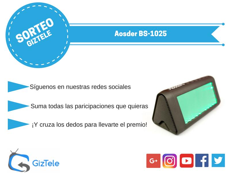 Sorteo Aosder BS-1025