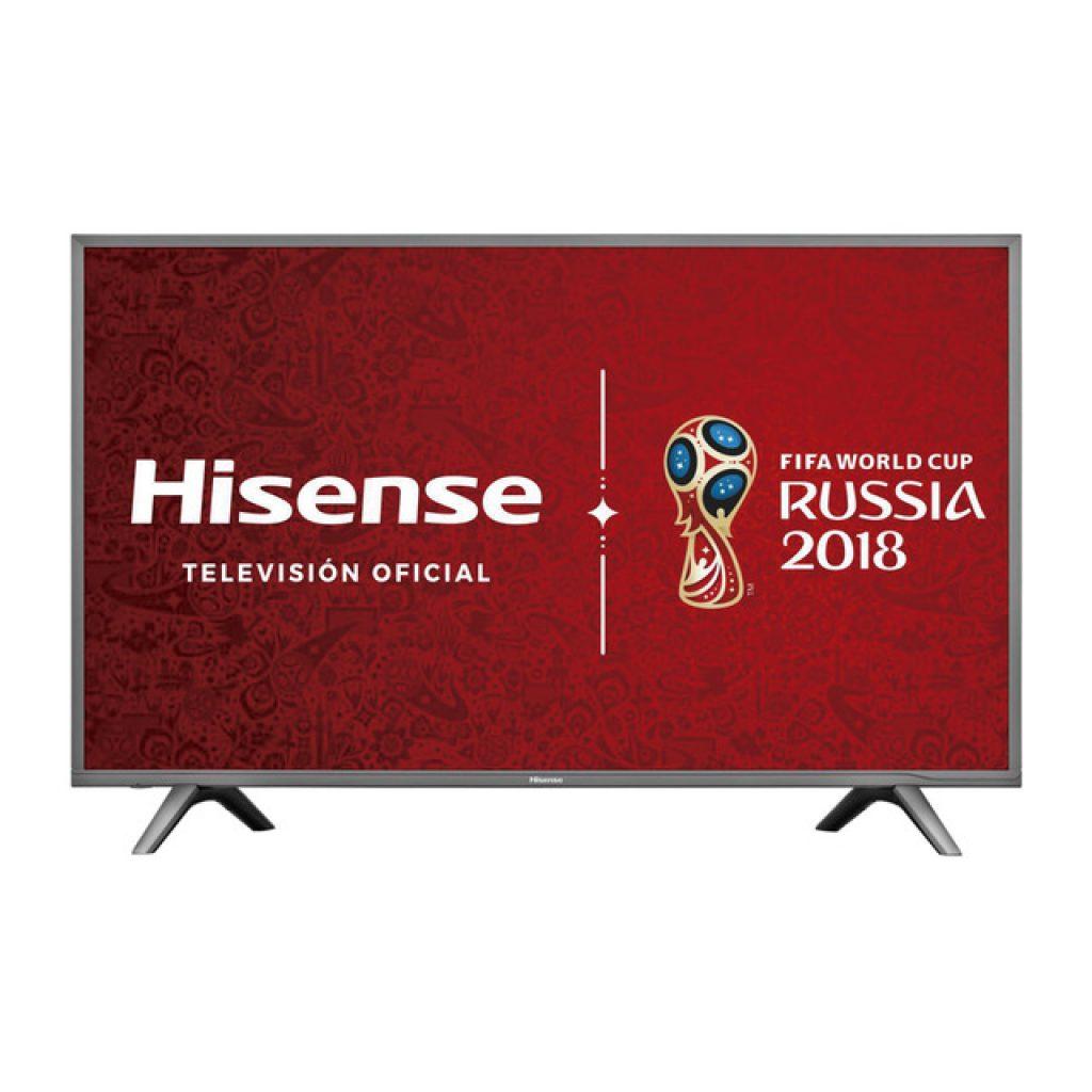 Hisense H43N5700 patrocinador oficial