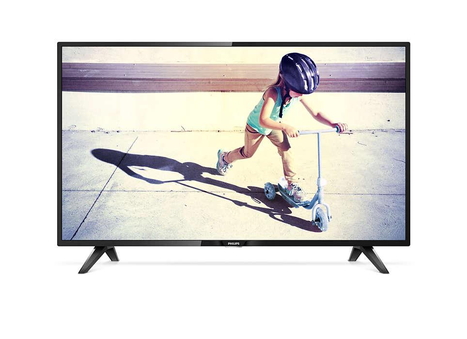 El televisor ofrece una buena calidad de imagen