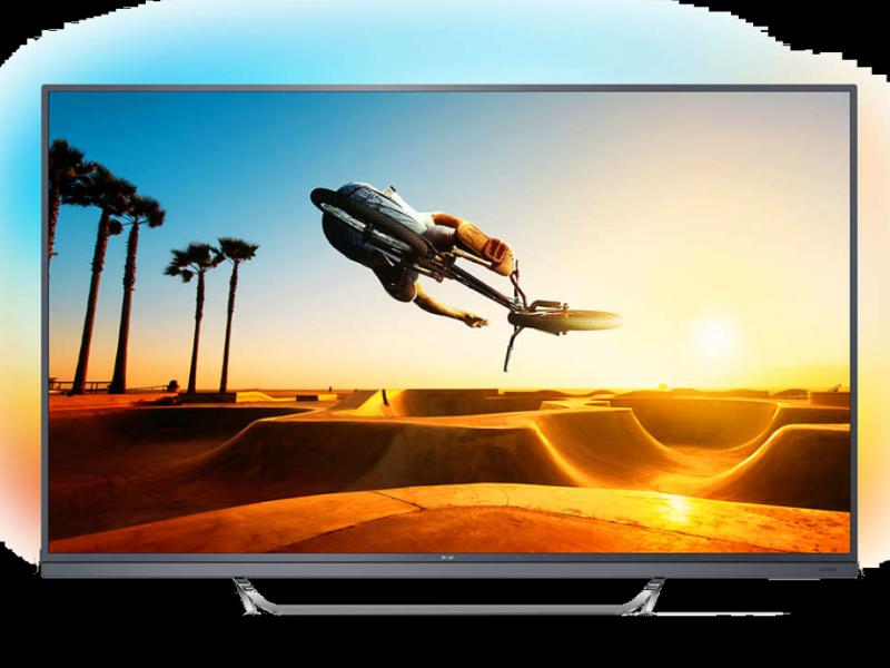 Philips 55PUS7502/12 es un televisor de atractivo y curioso diseño