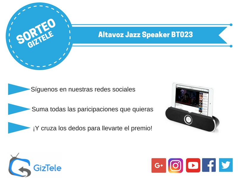 Sorteo Jazz Speaker BT023