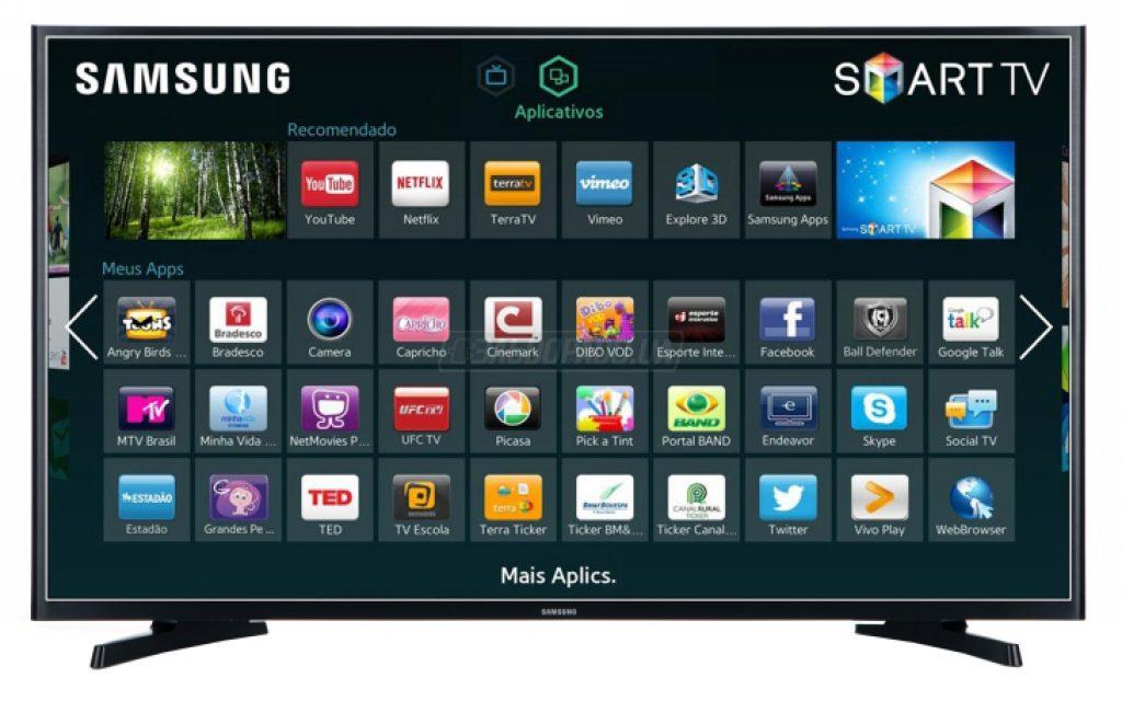 Samsung UE40J5200 Smart TV, Interfaz Smart Hub.