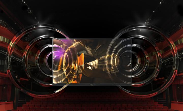 Sony KD55XE7096BAEP ClearAudio+, DSEE y otras ayudas tecnológicas para un sonido Sony, valga la redundancia.