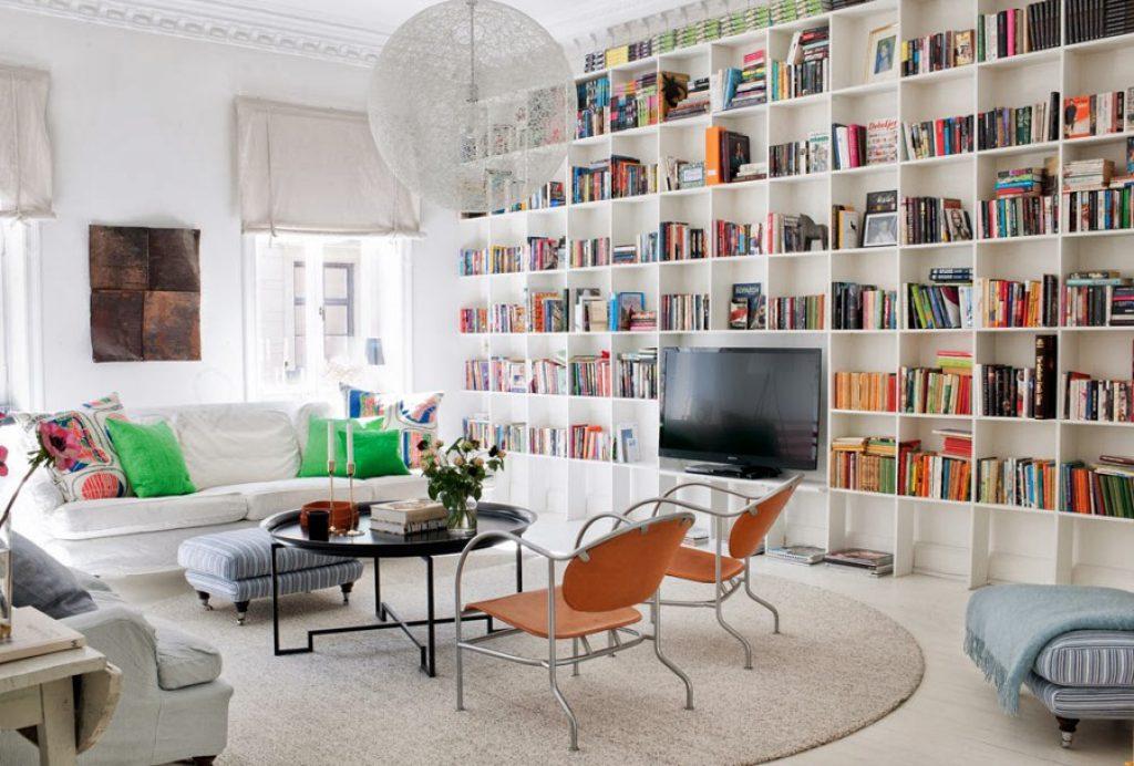 Incluir una librería en tu salón es doblemente positivo