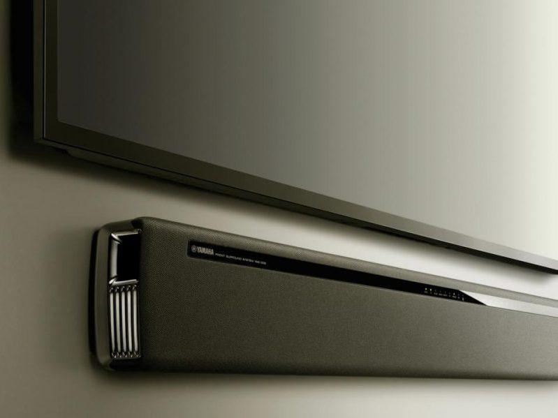 yamaha yas 306 es una barra de sonido convencional, con un poco de todo