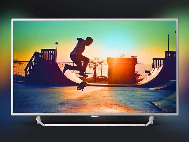 43PUS6412 4K Ultra HD y procesador Quad Core.