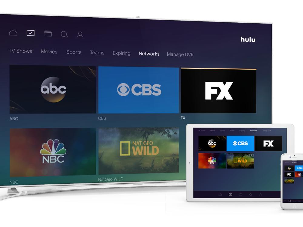 Live TV with Hulu ofrecerá 50 canales multitemática en directo