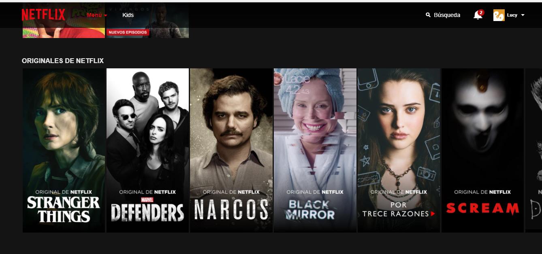 Netflix en la actualidad