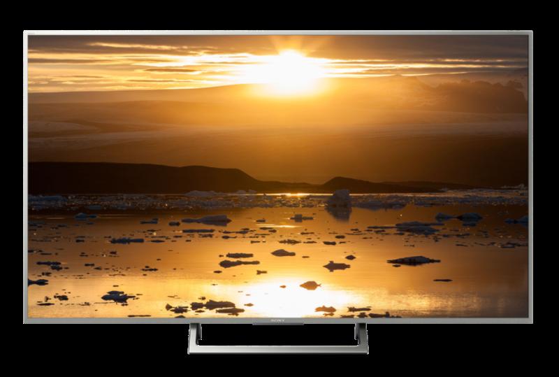 Sony KD55XE7077SAEP UHD 4K con Smart TV en base Linux.