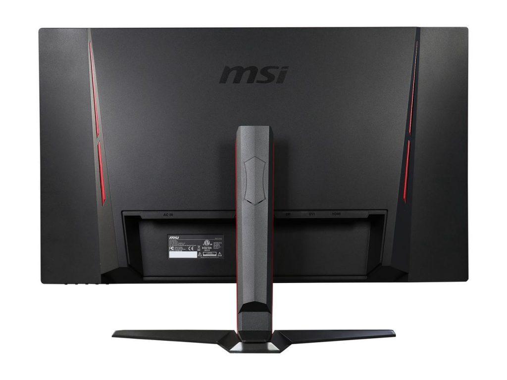 MSI Optix G27C, diseño