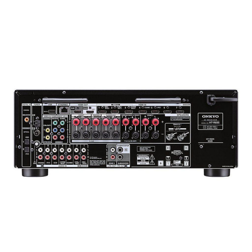 Onkyo HTS-7805, servicios de música