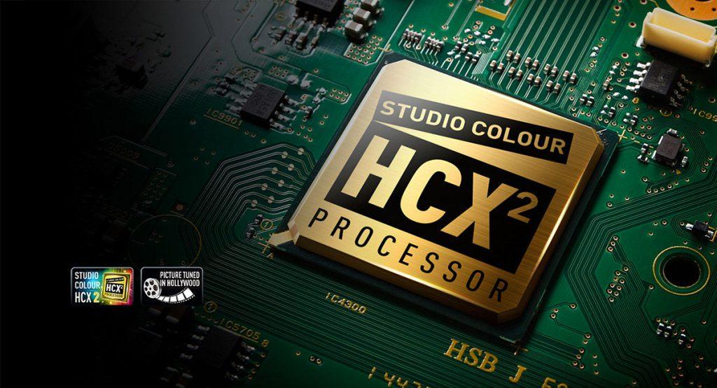 Panasonic TX-75EX780E con procesador HCX2 por y para el cine de Hollywood.