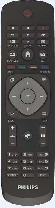 El software del televisor es convencional pero con detallitos modernos