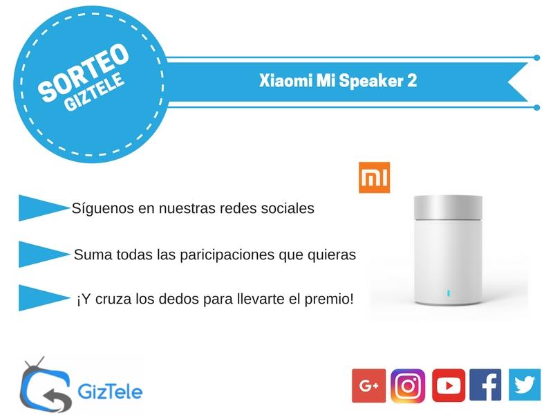 SORTEO Xiaomi Mi Speaker 2