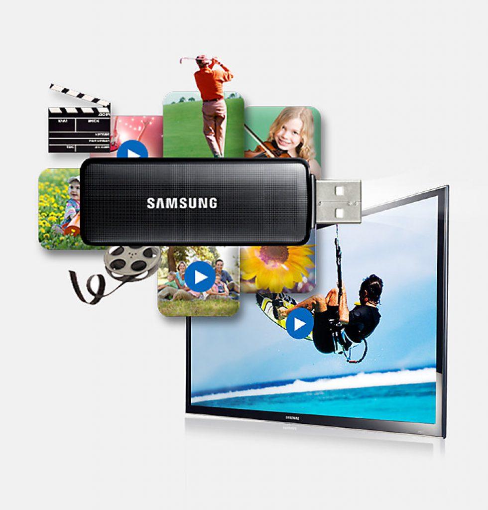 Samsung UE40M5005AWXXC con puerto USB para reproducción de contenidos.
