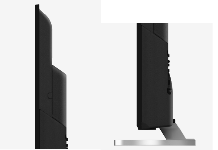 Panasonic TX-40ES510E de perfil.