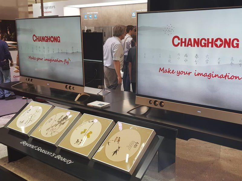 Changhong nos ofrece mucha variedad en sus televisores