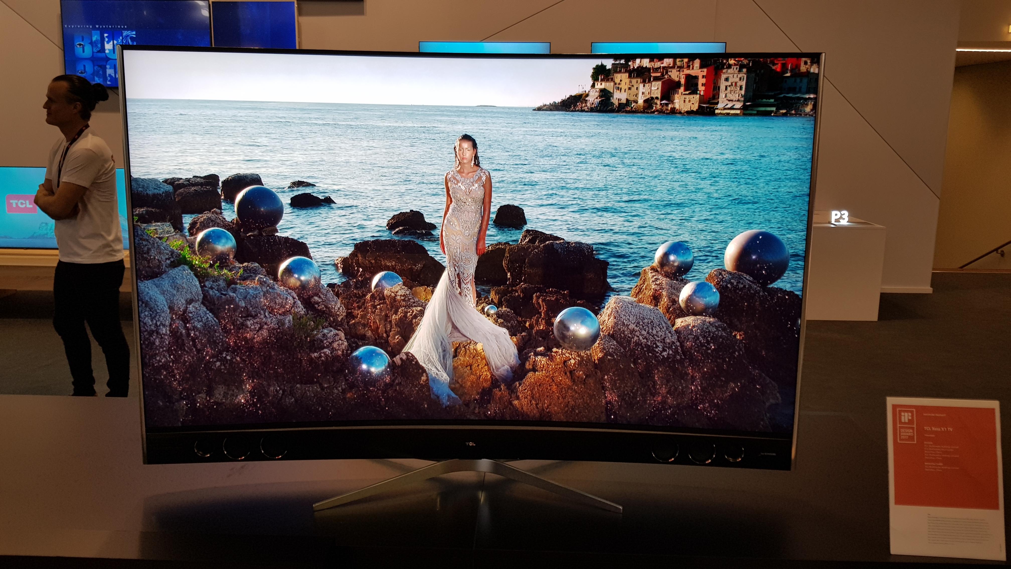 Así se muestra el televisor por delante