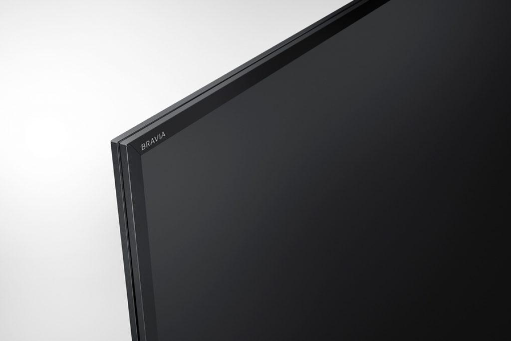 Sony KD65XE7096BAEP, diseño sobrio, anguloso y elegante. BRAVIA 2017.