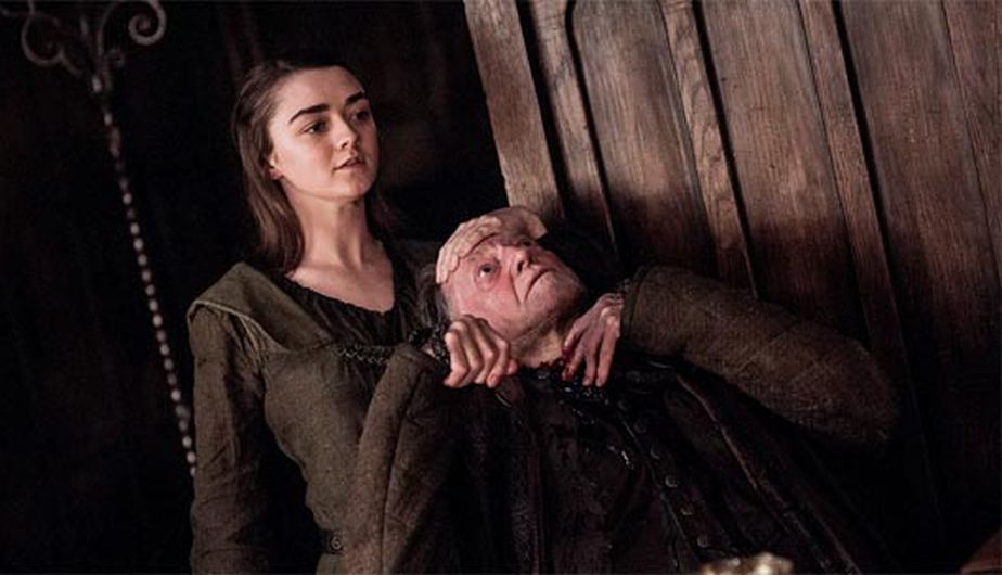 Así acabo Arya con Walder Frey