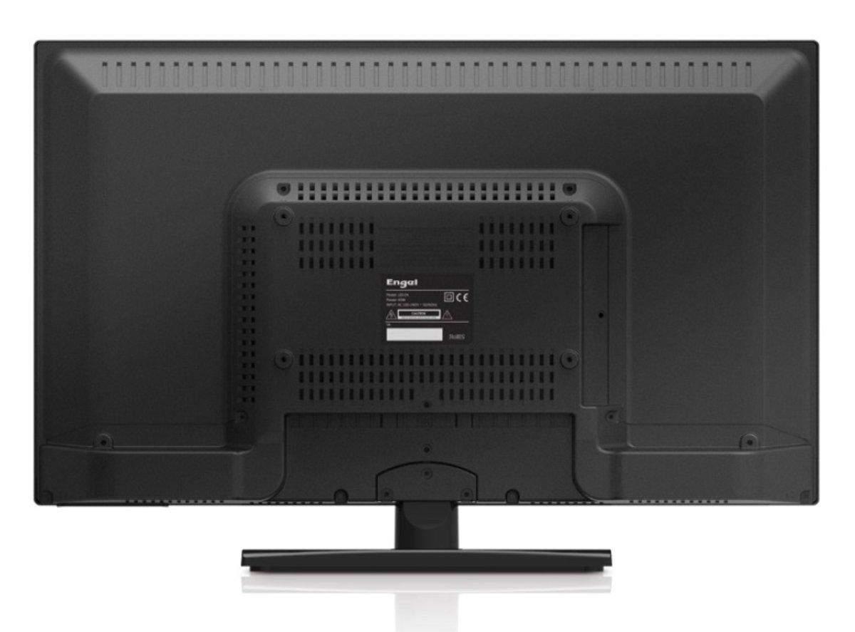 Así es el convencional panel trasero del televisor
