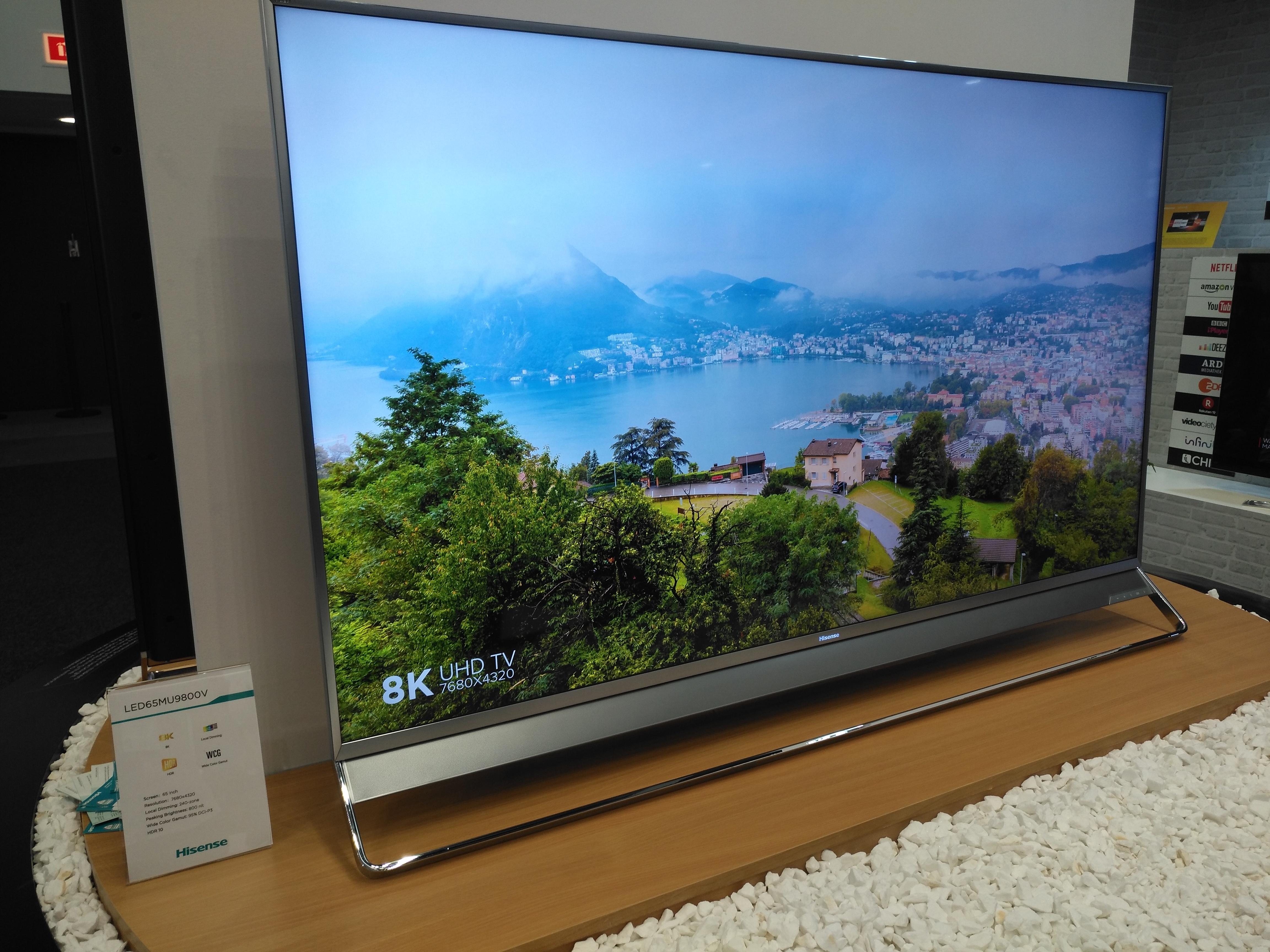 Este es el televisor 8K que la marca ha traído al IFA17