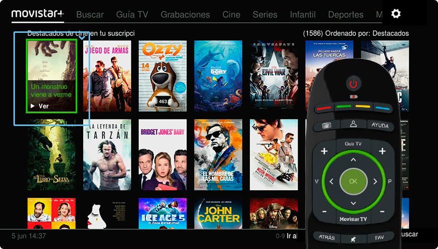 La TV bajo demanda es muy sencilla y cómoda de consumir