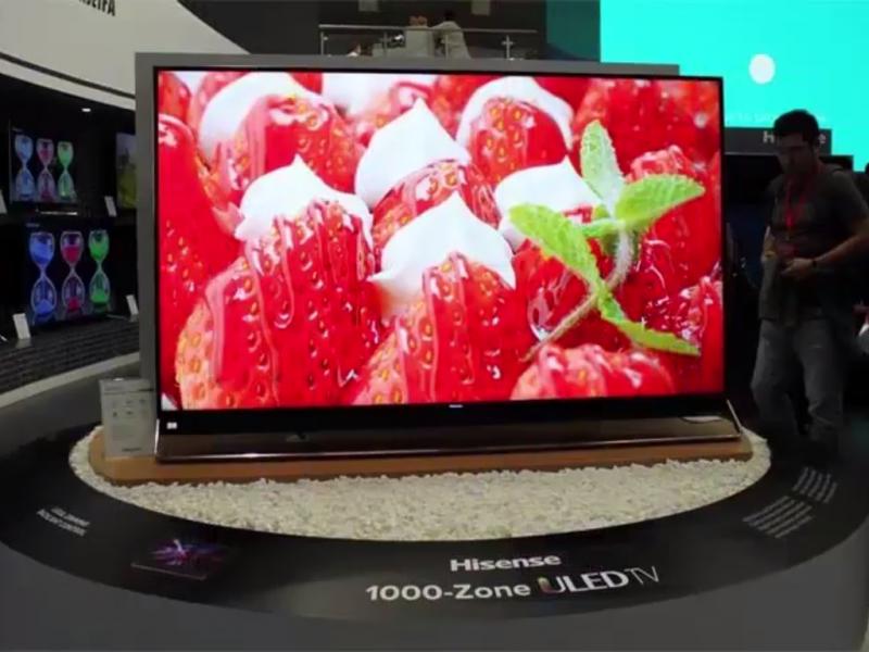 Este es el nuevo televisor OLED de Hisense, el modelo U9