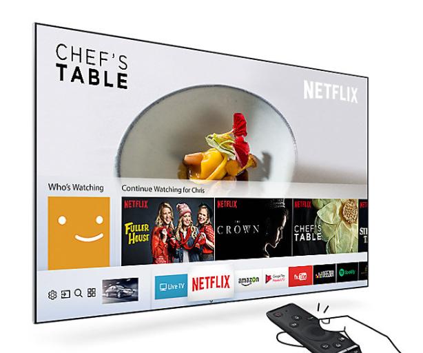 El televisor tiene la mejor plataforma inteligente de marca del momento