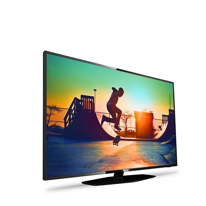 Este es el sencillo pero bonito diseño del televisor