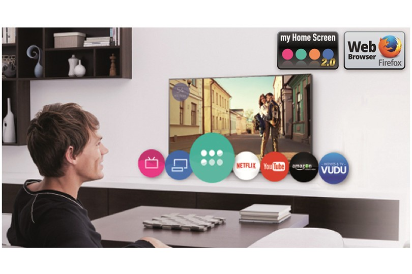 La tele incluye la plataforma inteligente de la marca