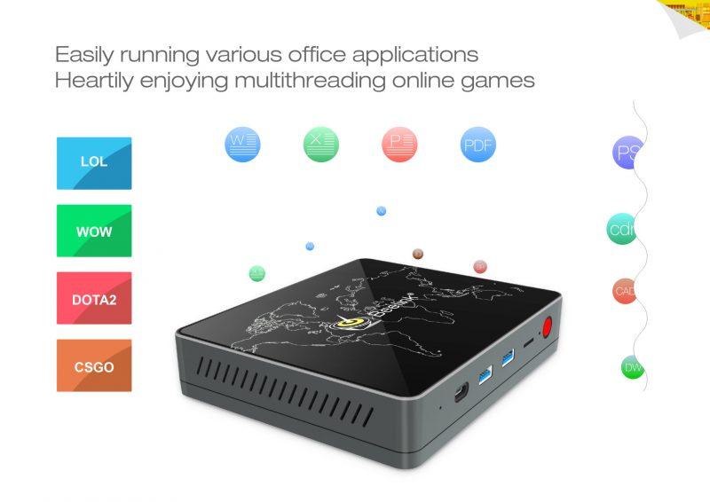 Con el mini PC puedes hacer de todo