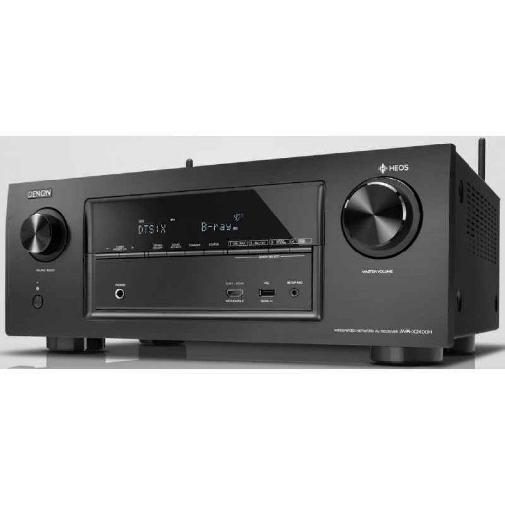 Denon AVR-X2400H, amplificador