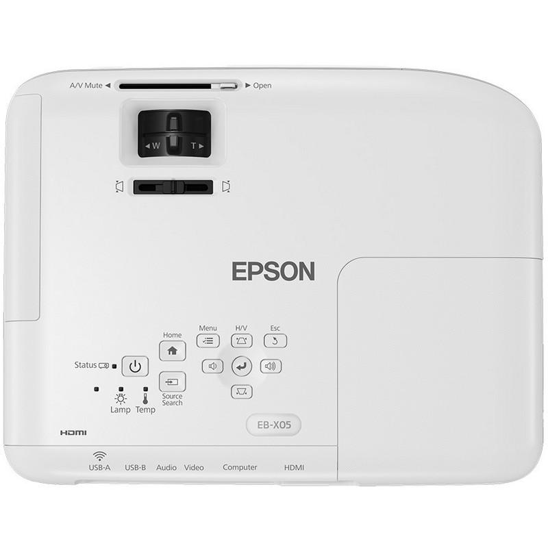 Epson EB-X05, aspecto