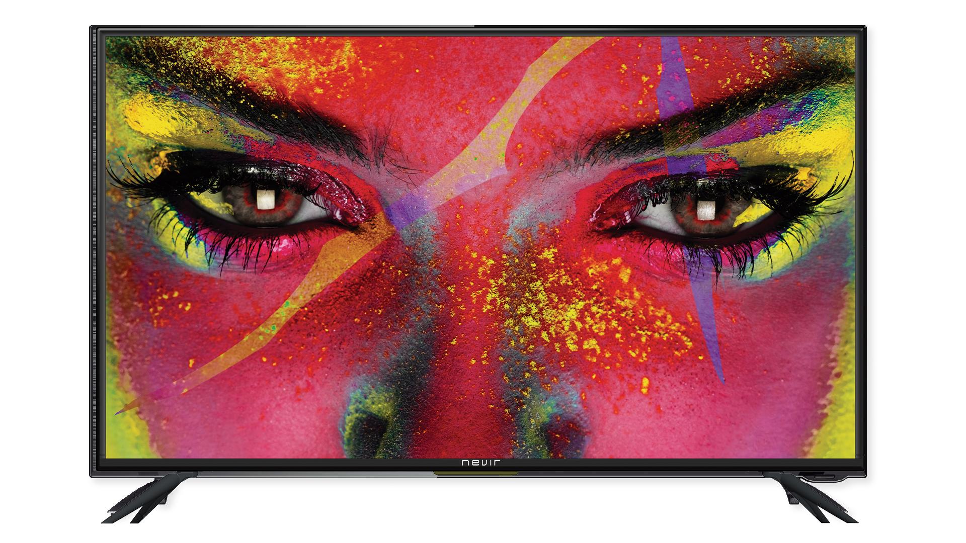 Así vemos el televisor,sencillo y bonito
