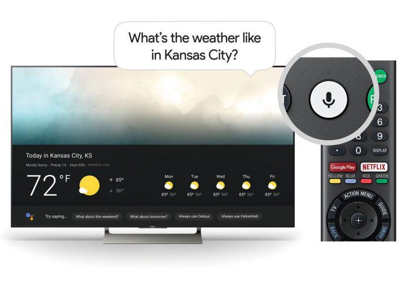 smartTVs de Sony con Google Assistant