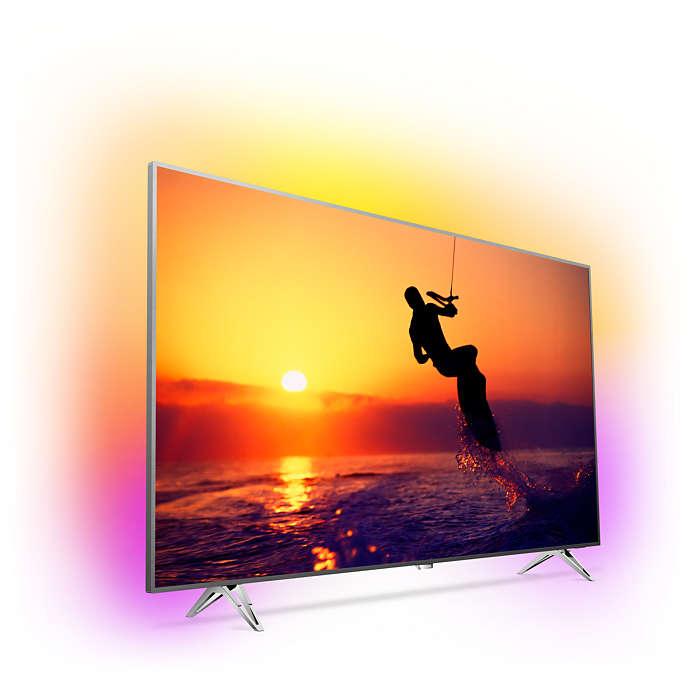El diseño del televisor es magnífico