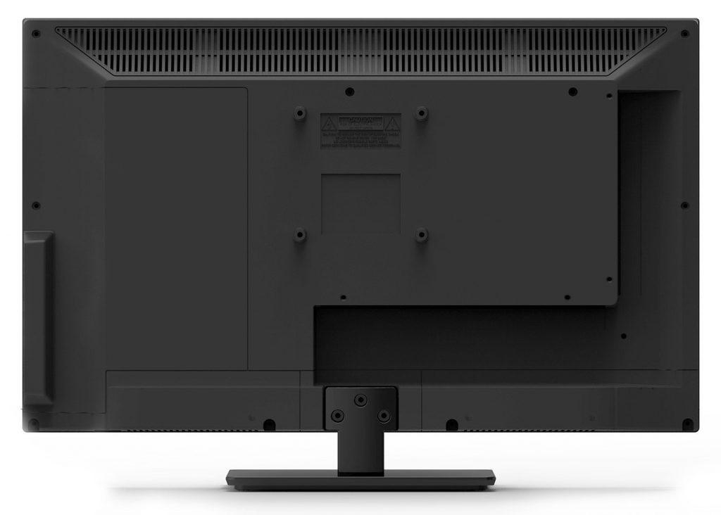 El panel trasero permite alojar cómodamente las conexiones