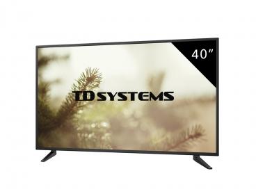 El televisor es sencillo y muy bonito