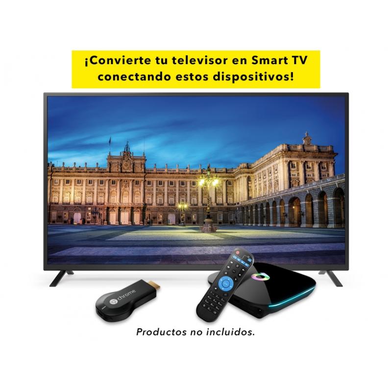 La marca te da las opciones para convertir el televisor en inteligente