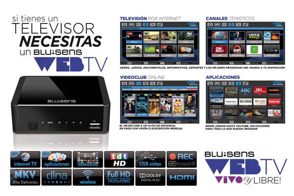Blusens WEB:TV-PRO