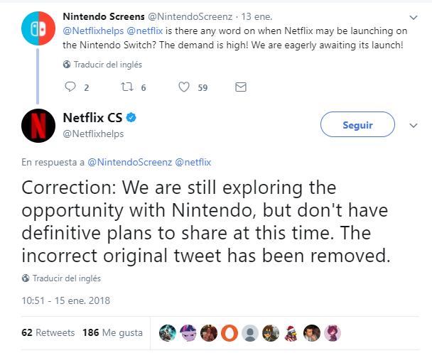 Tuits que confirman la situación
