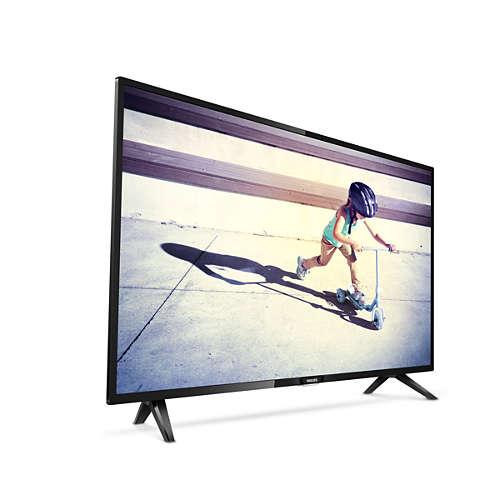 El televisor tiene un buen diseño